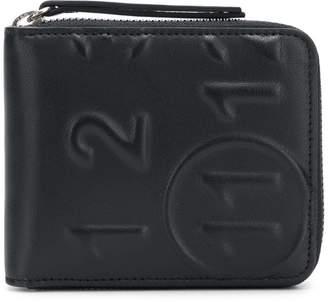 Maison Margiela embossed numbers wallet