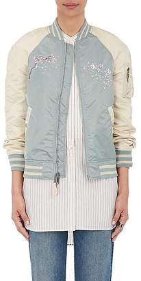 Alpha Industries Women's MA-1 Reversible Flight Jacket $280 thestylecure.com