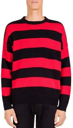 The Kooples Striped Crewneck Sweater