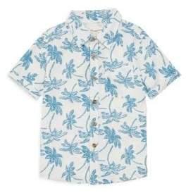 Appaman Little Boy's& Boy's Palm Tree Shirt