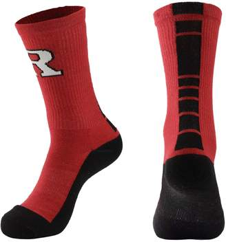 Women's Mojo Rutgers Scarlet Knights Champ 1/2-Cushion Performance Crew Socks