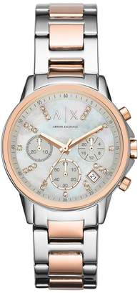Armani Exchange Ladies Chronograph Watch