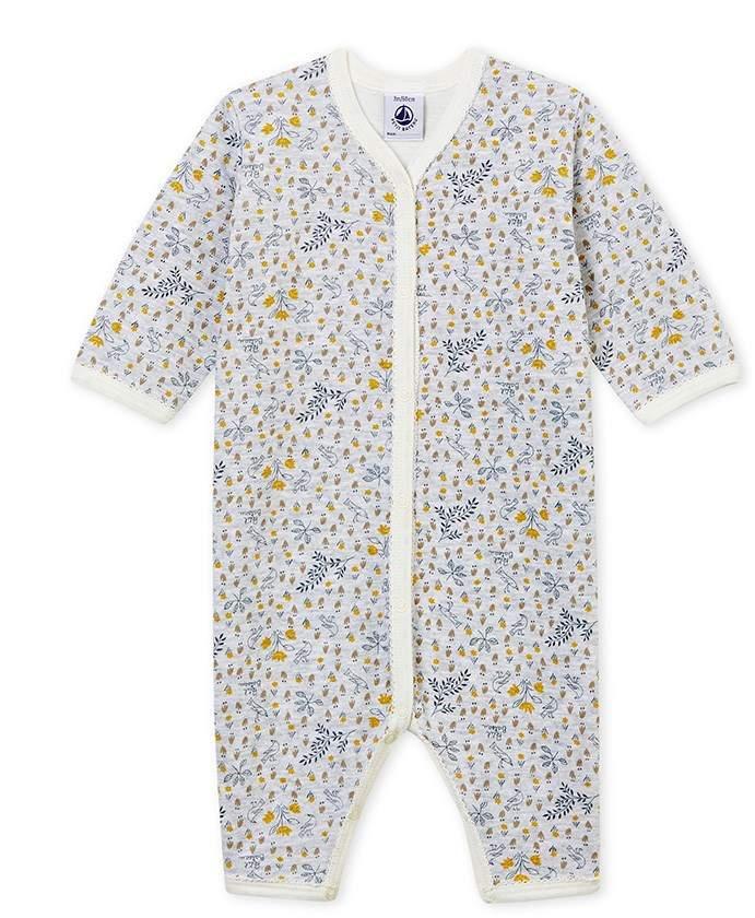 Petit Bateau BABY BOYS' SOFT FOOTLESS SLEEPSUIT