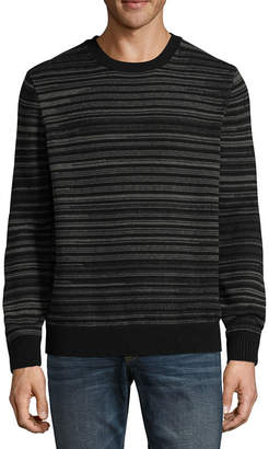 Claiborne Space Dye Long Sleeve Pullover Sweater
