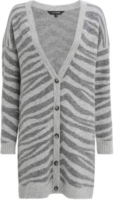 Intermix Nala Zebra Cardigan