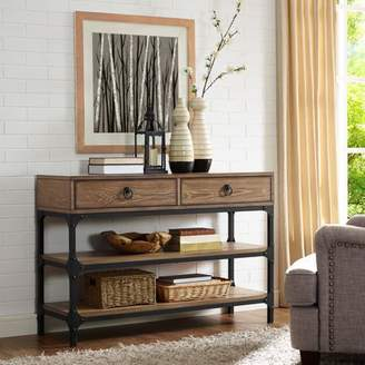 Crosley Furniture Trenton Console Table, Coffee