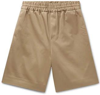 Acne Studios richard drawstring shorts brown