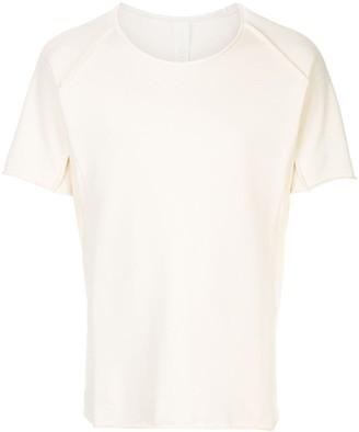 Carpe Diem raw hem T-shirt
