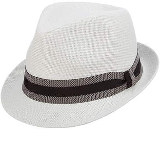 ST. JOHN'S BAY Fedora with Black Band