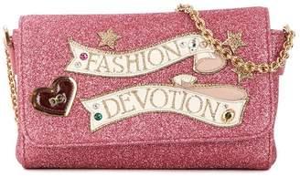 Dolce & Gabbana glitter cross-body bag