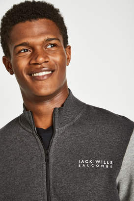 Jack Wills Barnsley Colour Block Track Top