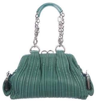 Bvlgari Pleated Fabiana Shoulder Bag