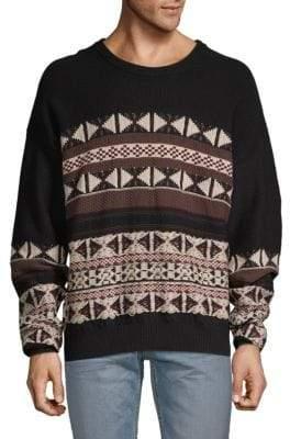 Maison Margiela Jaquard Print Sweater