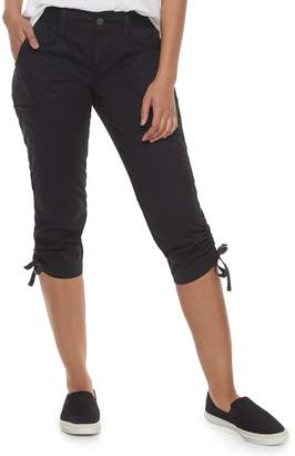 Sonoma Goods For Life Women's SONOMA Goods for Life Ruched Utility Capris