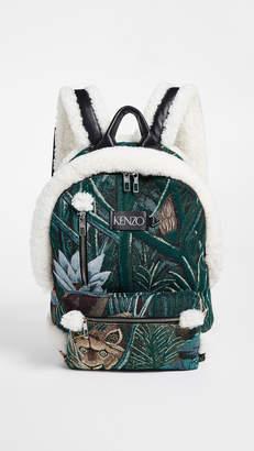 Kenzo Jacquard Backpack