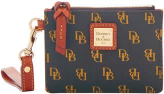 Dooney & Bourke Gretta Zip Top Card Case Wristlet