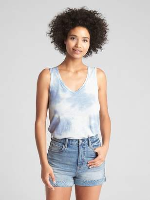 Gap Swing Slub V-Neck Tank Top