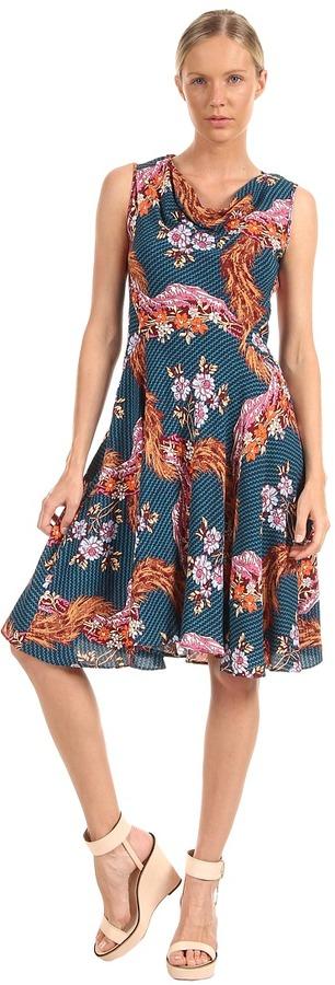 Vivienne Westwood Antoinette Dress (Blue/Hermine) - Apparel