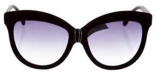 Italia Independent Velvet Cat-Eye Sunglasses w/ Tags