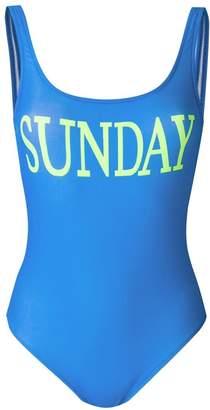 Alberta Ferretti Rainbow Week swimsuit