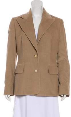 Celine Corduroy Button-Up Jacket