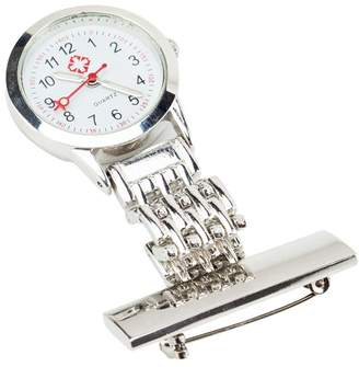 Fantastic High Quality Iron Fob Watch With Pin For Nurses, Doctors And Health Care Workers In Silver Colour By VAGA©