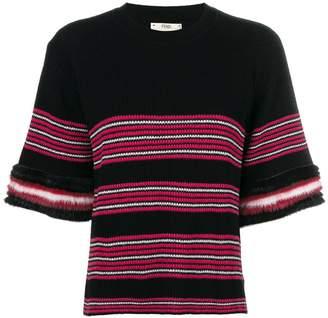 Fendi short-sleeve pullover