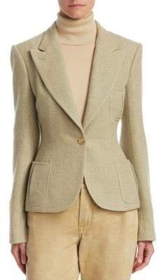 Ralph Lauren Gilmore Herringbone Jacket