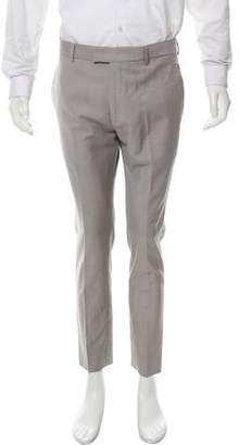 Marc Jacobs Virgin Wool Flat Front Pants