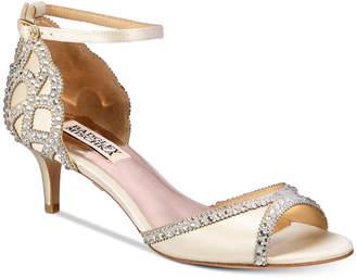 Badgley Mischka Gillian Peep-Toe d'Orsay Pumps Women's Shoes