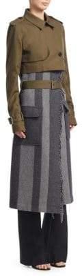 Derek Lam 10 Crosby Three-In-One Military Trench Coat