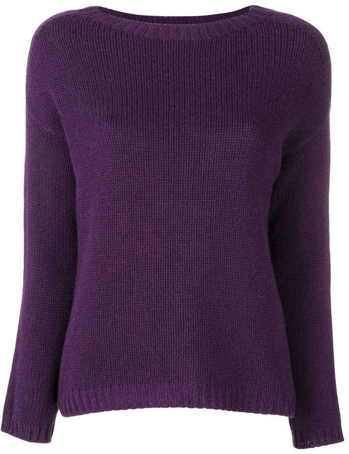 Aragona slash neck sweater
