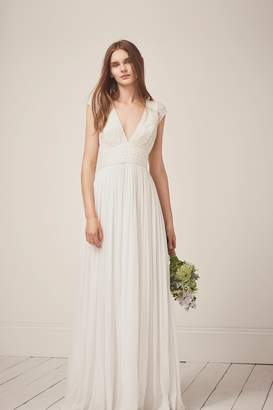 French Connenction Palmero Embellished Wedding Dress