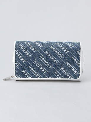 Moussy (マウジー) - MOUSSY MOUSSY/QUILTING WALLET FLAP SHOULDER アスチュート 財布/小物