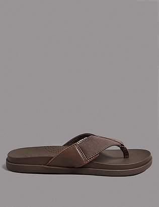 Marks and Spencer Leather Slip-on Flip-Flops