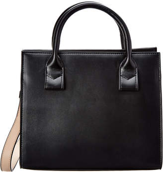 Jagger KC Kc Two-Tone Large Leather Satchel