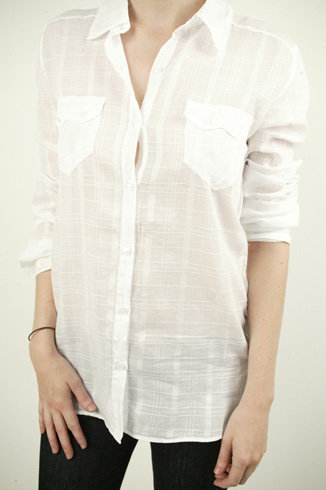 American Vintage Button Down – White