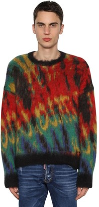 DSQUARED2 Mohair Blend Crewneck Sweater