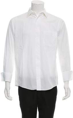 Burberry French Cuff Button-Up Shirt