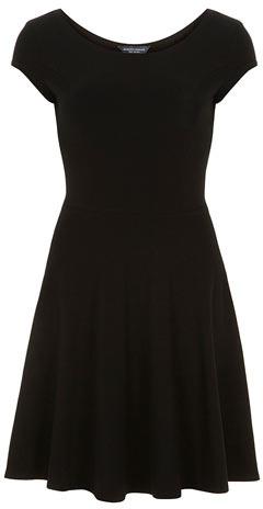 Dorothy Perkins Tall black bardot dress
