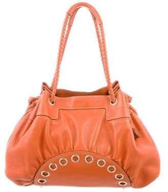 Anya Hindmarch Grained Leather Shoulder Bag