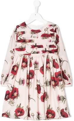 Patachou poppy print dress