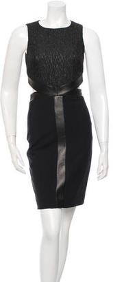 Nicole Miller Sleeveless Cutout Dress w/ Tags $125 thestylecure.com