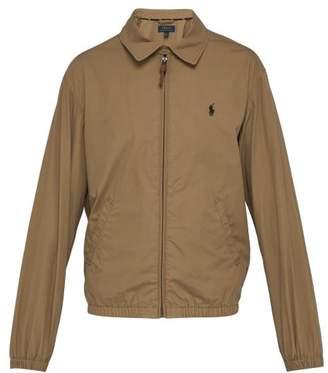 Polo Ralph Lauren Bayport Brushed Cotton Poplin Windbreaker Jacket - Mens - Tan
