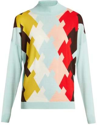 DELPOZO High-neck wool sweater