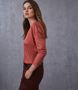Reiss Nadea Long Sleeved T-Shirt