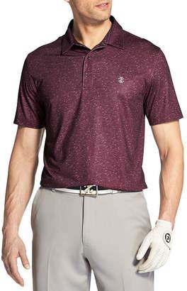 Izod Short Sleeve Dots Knit Polo Shirt