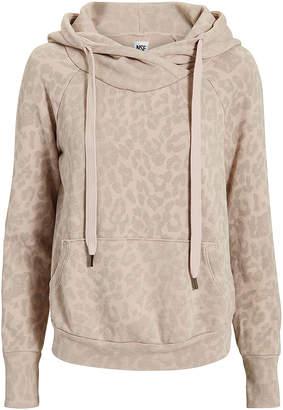 NSF Lisse Leopard Drawstring Hoodie