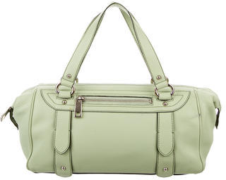 Marc Jacobs Marc Jacobs Green Leather Handle Bag