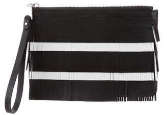 Proenza Schouler Medium Fringed Wristlet w/ Tags